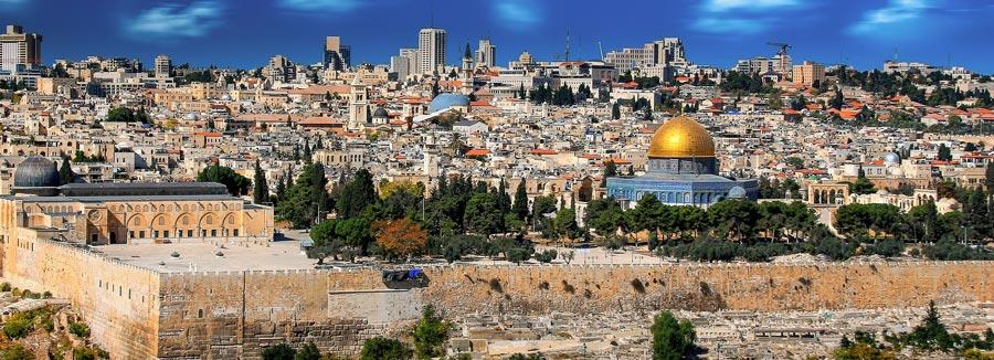 Israel Backpacking: Jerusalem, heilige Stadt