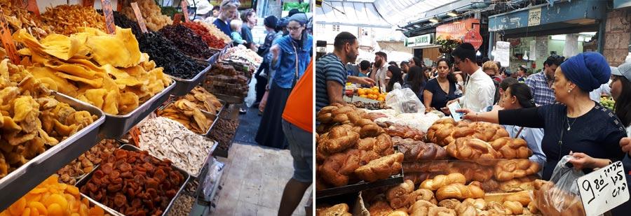 Israel Backpacking: Markt, Menschen, Leben
