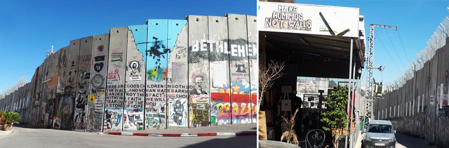 Israel Sehenswürdigkeiten: Bethlehem, Mauer