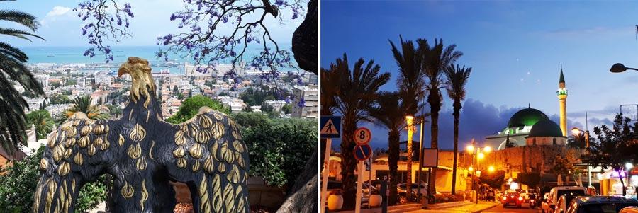 Israel Sehenswürdigkeiten: Haifa, Akko