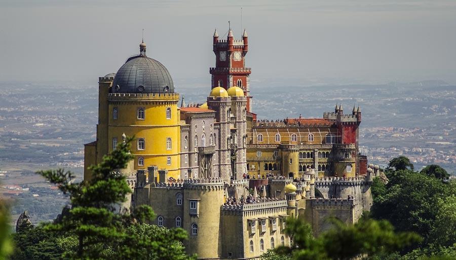 Lissabon Sehenswürdigkeiten: Palacio Nacional da Pena