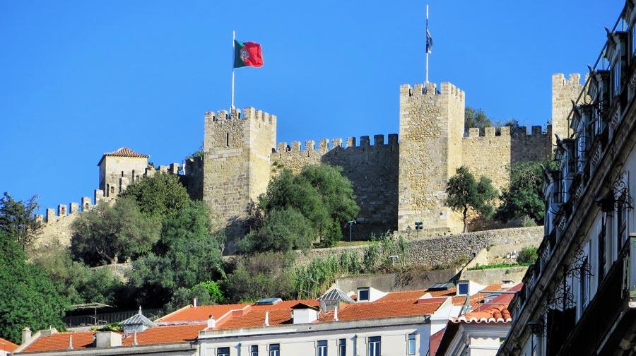 Lissabon Sehenswürdigkeiten: Burg St. Georg