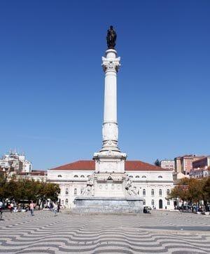 Lissabon Sehenswürdigkeiten: Rossio Platz