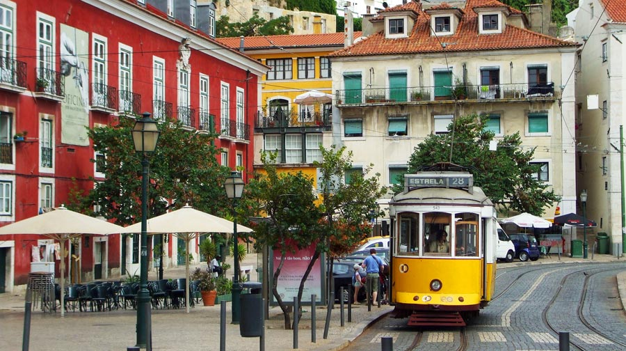 Lissabon Sehenswürdigkeiten: Tram, Transport