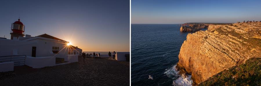 Portugal: Cabo Sao Vicente, Steilküste, Festland