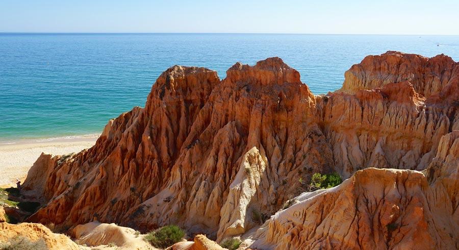 Portugal Sehenswürdigkeiten: Meer, Strand, Bucht