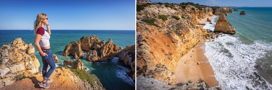 Portugal Sehenswürdigkeiten: Algarve, Küste