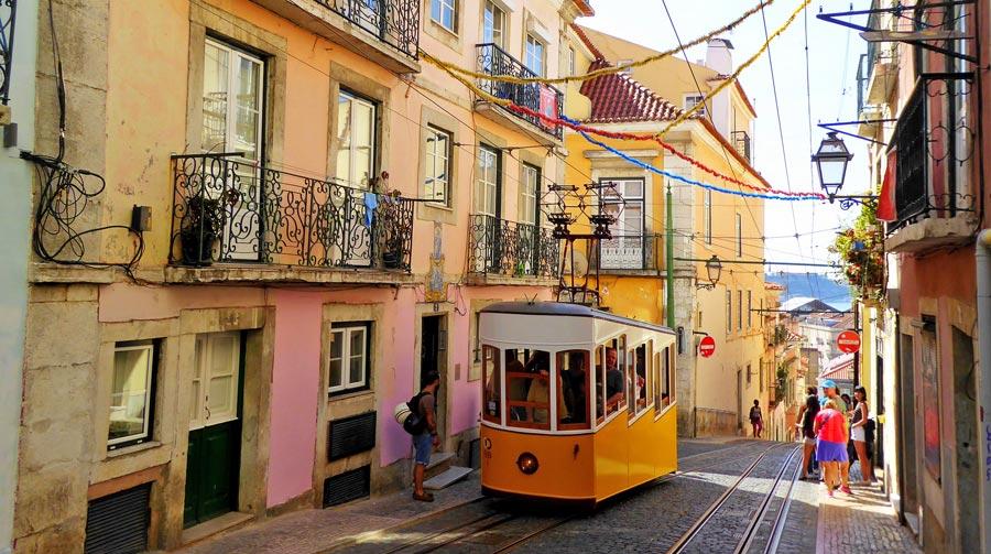 Portugal Sehenswürdigkeiten: Lissabon, Hauptstadt