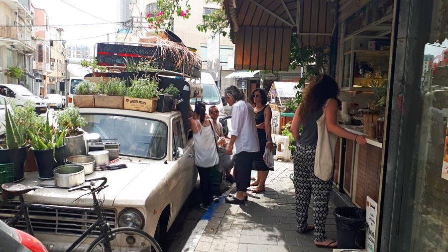 Tel Aviv Sehenswürdigkeiten: Cafe, Restaurant