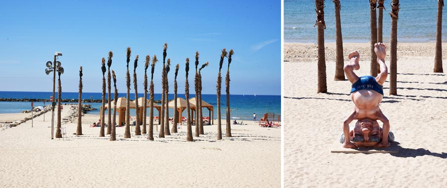 Tel Aviv Sehenswürdigkeiten: Strand, Mittelmeer