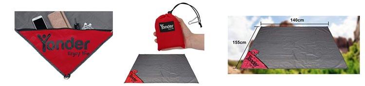 Yonder Outdoor-Picknickdecke, wasserdicht