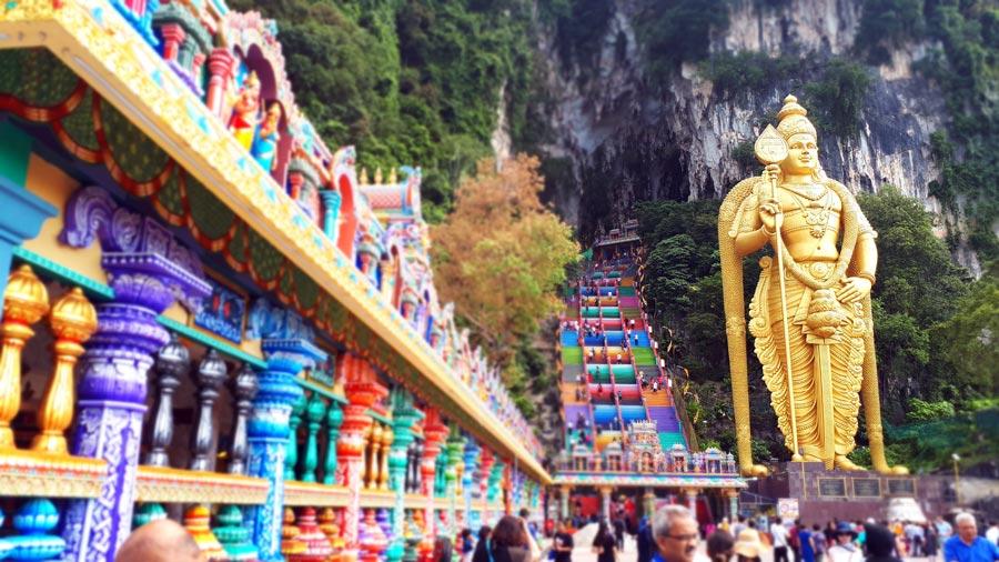 Kuala Lumpur: Batu Caves