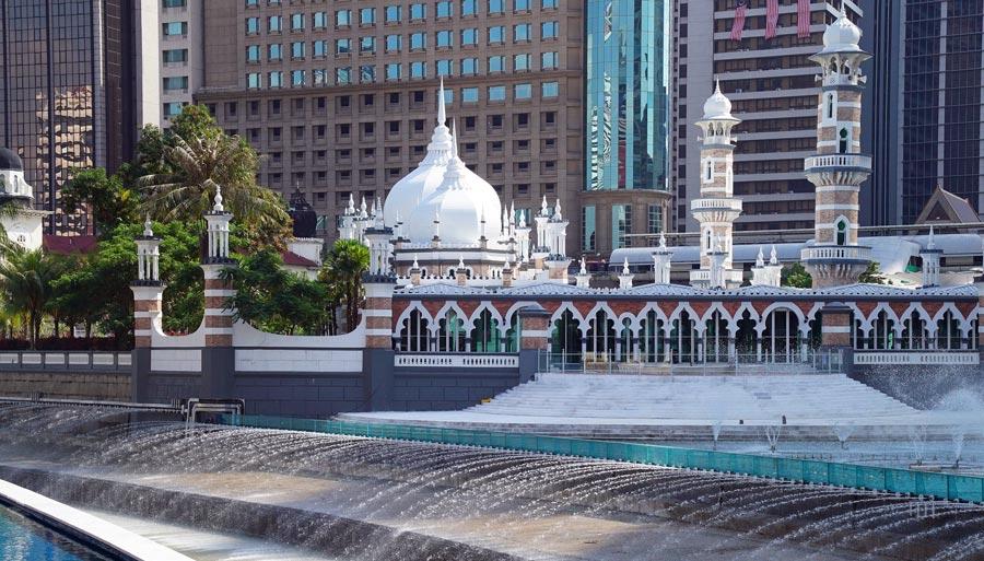 Kuala Lumpur: Moschee Masjid Jamek