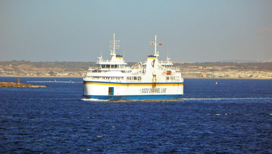 Anreise Gozo: Fähre, Gozo Channel Line