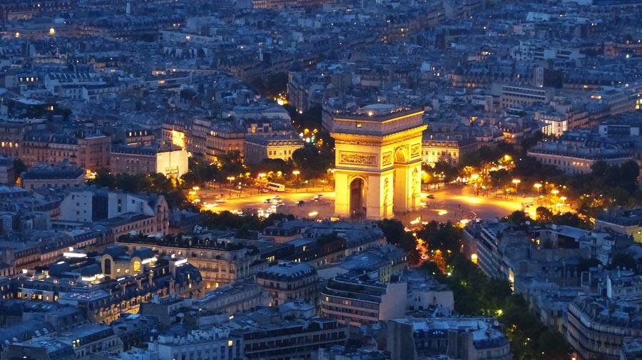 Arc de Triomphe, Paris Reisetipps