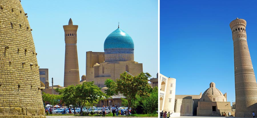 Buchara: Ark, Kalon Minarett, Moschee