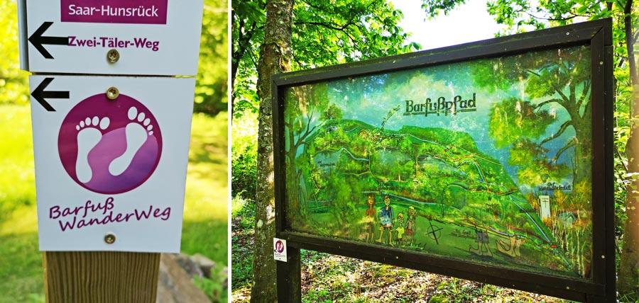 Barfuß Wanderweg, Naturpark Saar-Hunsrück