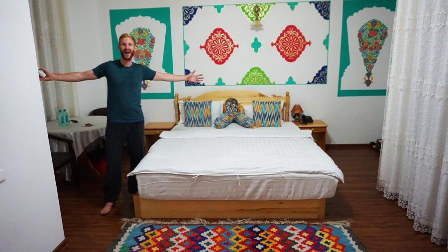 Buchara Hotel: Unterkunft Reisetipp