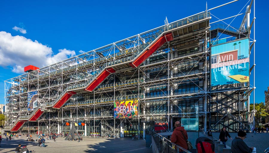 Centre Georges Pompidou: Museum Paris