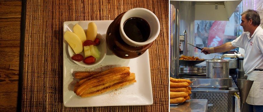 Churros Spanien, Dessert, Frühstück
