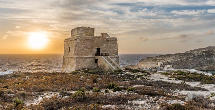 Dwejra Turm, Gozo Tower