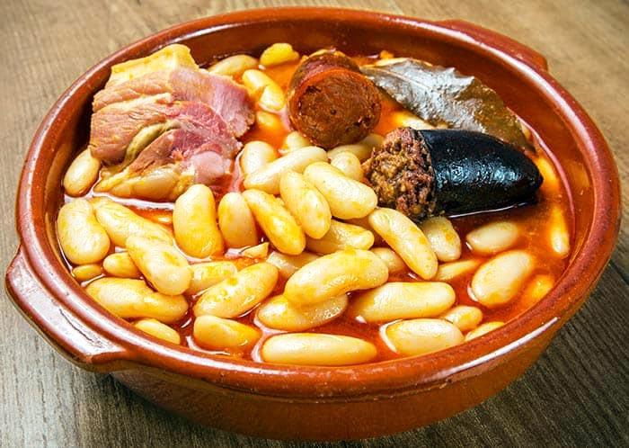 Fabada, Hülsenfrüchte, Spanischer Eintopf