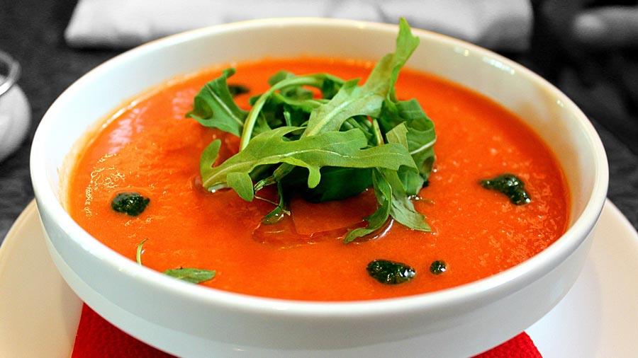 Gazpacho, Spanische Suppe, Vorspeise