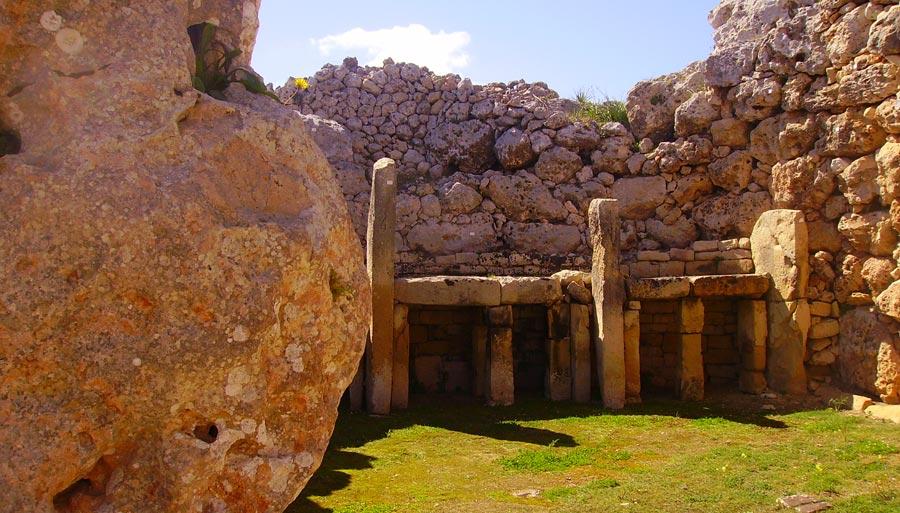 Ggantija Tempel, Xaghra Gozo