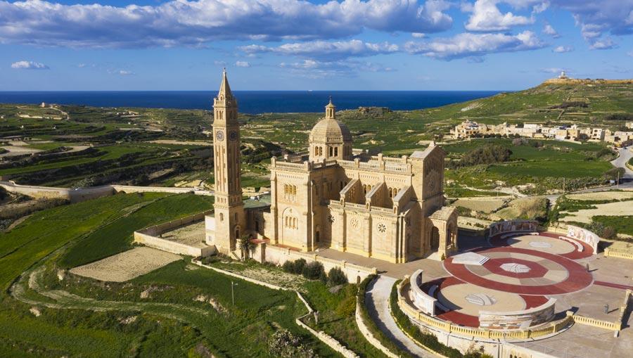 Insel Gozo: Kathedrale Ta Pinu