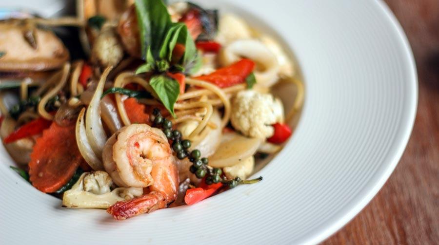 Italienisches Essen: Pasta, Nudeln