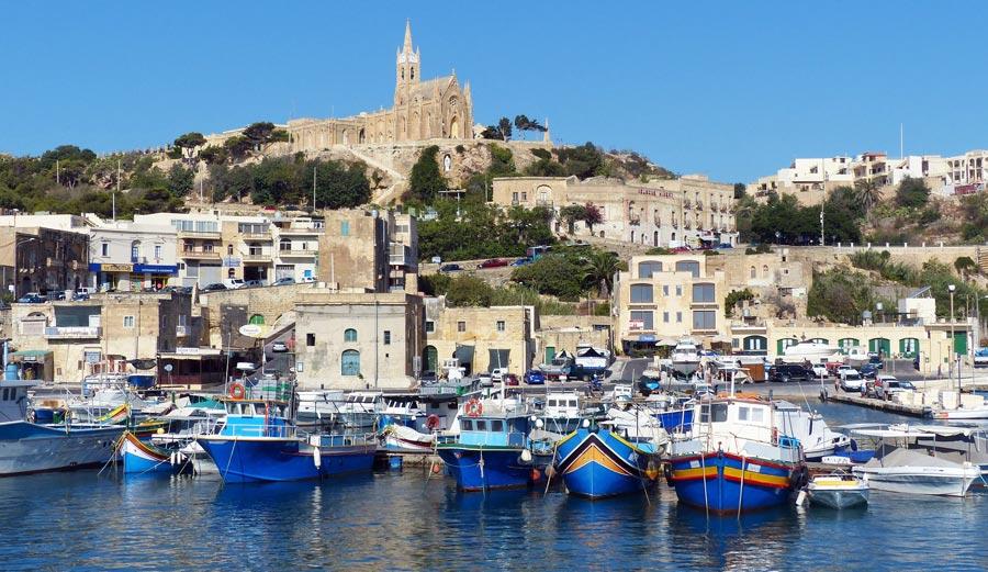 Mgarr, Hafen Gozo, Malta
