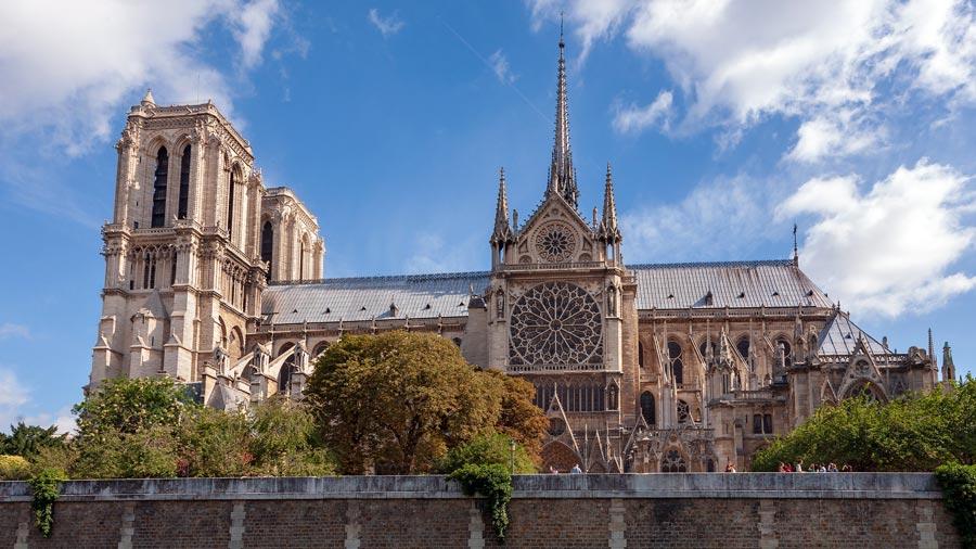 Paris Sehenswürdigkeiten: Notre Dame Kathedrale