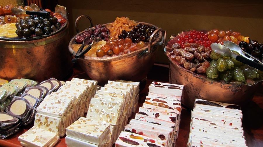 Nougat, Spanischer Turron, Dessert