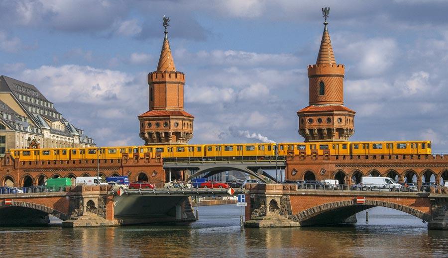 Fluss Spree, Oberbaumbrücke