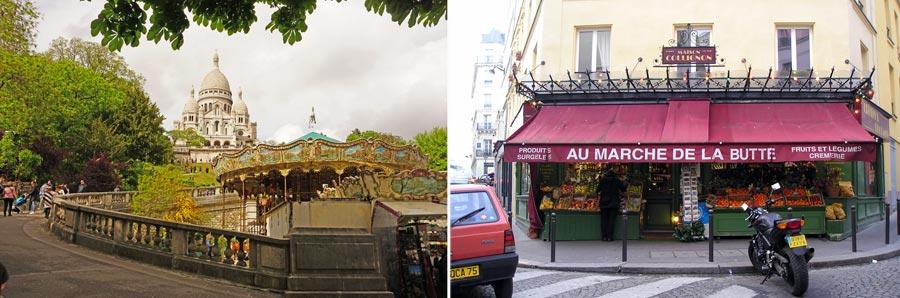 Paris Sehenswürdigkeiten: Sacre Coeur, Montmartre