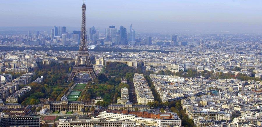 Stadt Paris, Panorama, Frankreich