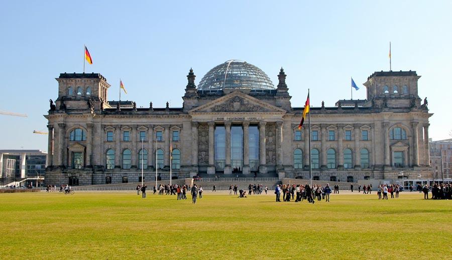 Reichstag, Plenarbereich Reichstagsgebäude