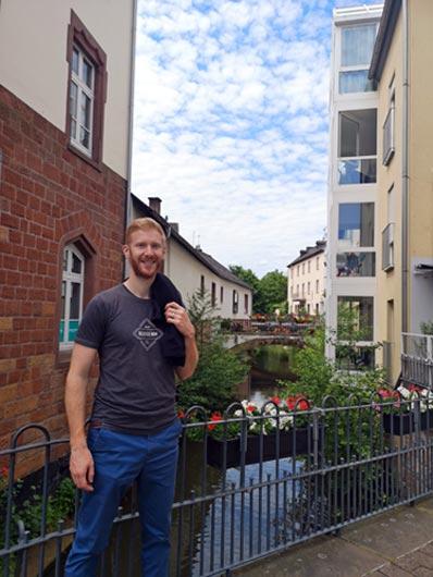 Ausflug Saarburg, Saarschleife