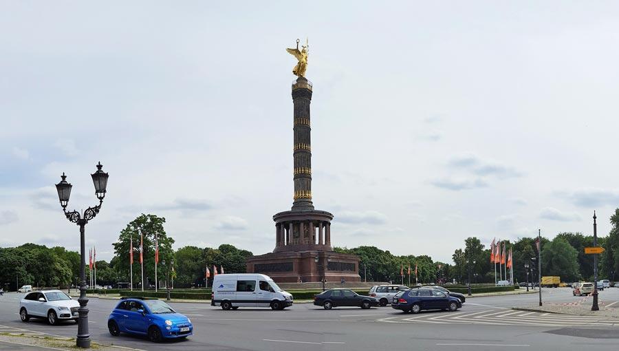 Berlin Sehenswürdigkeiten: Siegessäule, Großer Stern