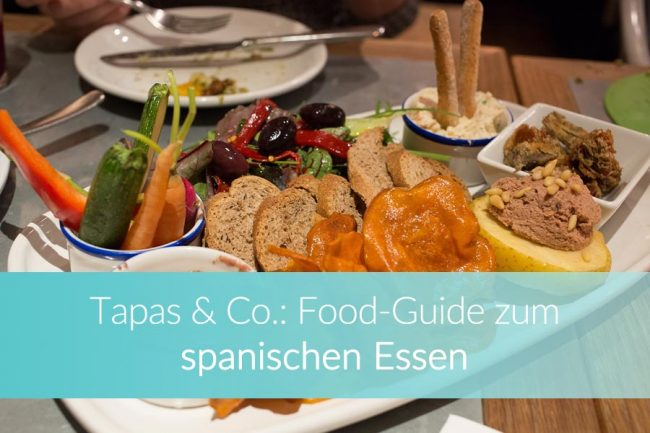 Spanisches Essen, spanische Küche