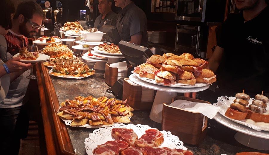 Spanisches Restaurant, Tapas