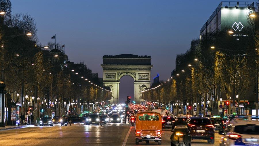 Paris Sehenswürdigkeiten: Triumphbogen