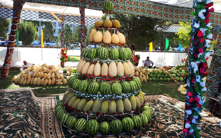 Usbekistan beste Reisezeit, Melonen