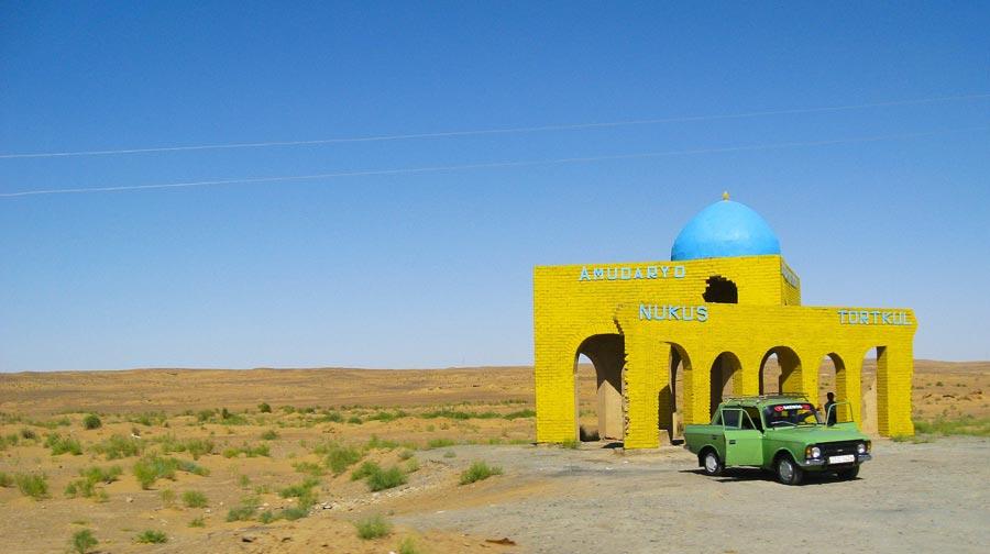 Usbekistan Sehenswürdigkeiten: Kysylkum Wüste, Nukus