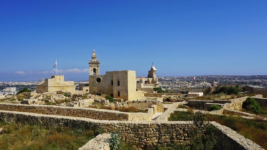 Gozo: Zitadelle, Hauptstadt Victoria