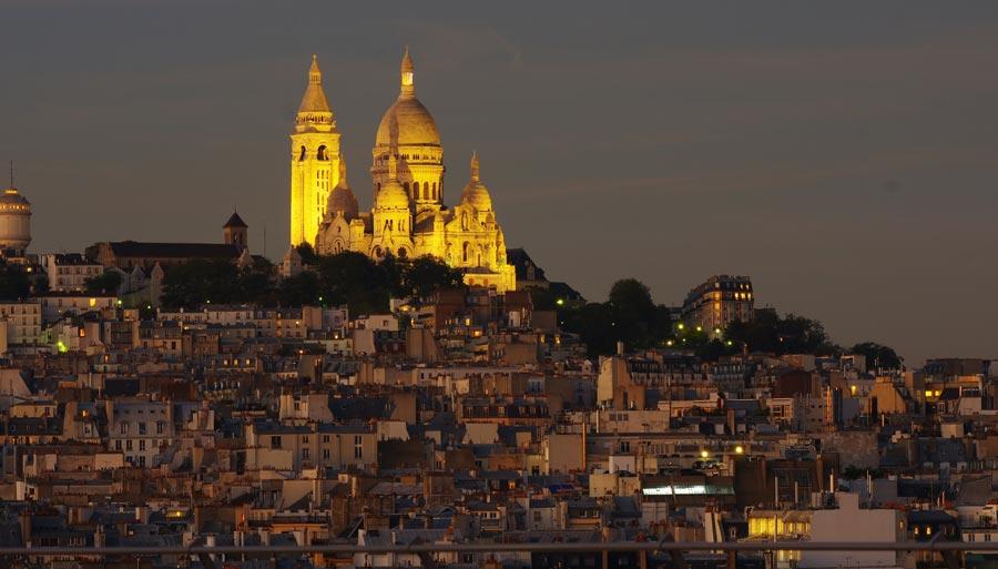 Viertel Montmartre, Kirche Sacre Coeur