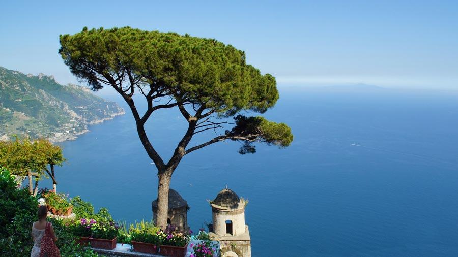 Amalfiküste, Strand Mittelmeer, Italien