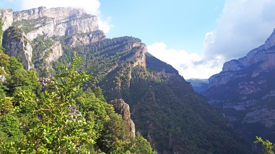 Anisco Canyon, Pyrenäen Spanien
