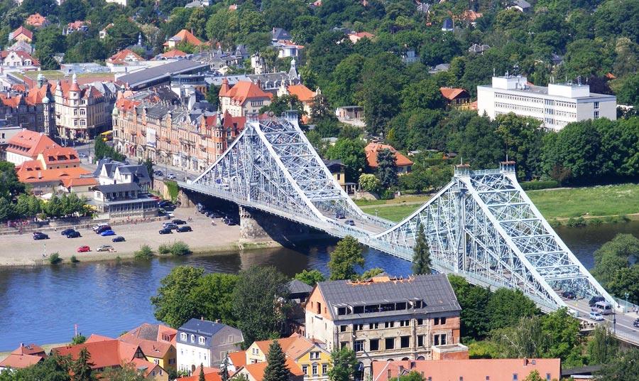 Blaues Wunder, Brücke Dresden