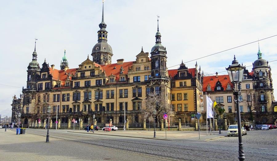Dresden Sehenswürdigkeiten, Residenzschloss